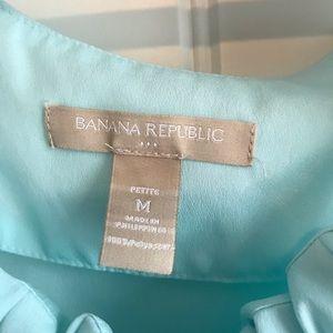 Banana Republic Tops - Banana Republic light blue blouse